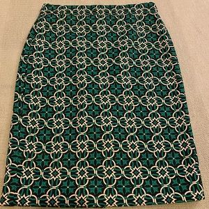 J. Crew Fun Patterned Skirt